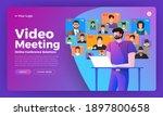 illustrations flat design... | Shutterstock .eps vector #1897800658