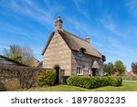 Traditional Thatched Cottage In ...
