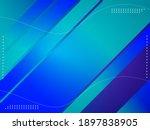 abstract geometric gradient...   Shutterstock .eps vector #1897838905
