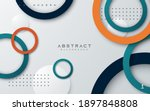 abstract geometric background...   Shutterstock .eps vector #1897848808