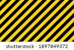 black and yellow diagonal line...   Shutterstock .eps vector #1897849372