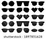 sun glasses set vector design...   Shutterstock .eps vector #1897851628