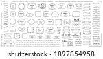 calligraphic design elements ....   Shutterstock .eps vector #1897854958