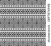 traditional aztec seamless...   Shutterstock .eps vector #1897876948