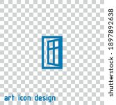 window open vector icon on an...   Shutterstock .eps vector #1897892638