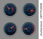 set of isolated dashboard...   Shutterstock .eps vector #1897910008