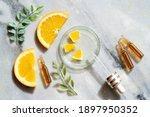 citrus fruit vitamin c serum...   Shutterstock . vector #1897950352