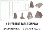 six different table display... | Shutterstock .eps vector #1897957678
