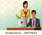 business people | Shutterstock .eps vector #18979663