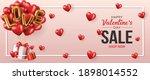 happy valentines day vector...   Shutterstock .eps vector #1898014552