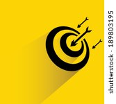 dart  target | Shutterstock .eps vector #189803195