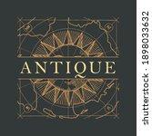 vector banner or logo for an... | Shutterstock .eps vector #1898033632
