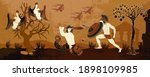 ancient greece. legends and...   Shutterstock .eps vector #1898109985