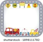 vector cartoon of emergency...   Shutterstock .eps vector #1898111782