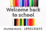 Text Welcome Back To School On...