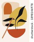abstract bohemian contemporary  ... | Shutterstock .eps vector #1898146978