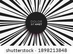 black and white sunburst... | Shutterstock .eps vector #1898213848
