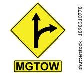 mgtow men go their own way ... | Shutterstock .eps vector #1898310778