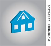 house icon. real estate vector . | Shutterstock .eps vector #189841808