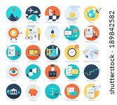 vector collection of colorful... | Shutterstock .eps vector #189842582