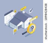 isometric vector illustration... | Shutterstock .eps vector #1898428438