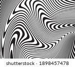 wave design black and white....   Shutterstock .eps vector #1898457478