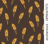 seamless vector pattern with... | Shutterstock .eps vector #1898467072