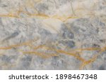 Abstract White And Gray Marble...