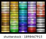 metal gradient collection of... | Shutterstock .eps vector #1898467915