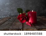 Romantic Love Decoration With...