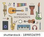 various instrument... | Shutterstock .eps vector #1898526595
