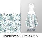 elegant seamless pattern with...   Shutterstock .eps vector #1898550772