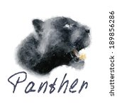 Panther Vector   Watercolor...