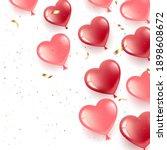happy valentine s day. gel... | Shutterstock .eps vector #1898608672