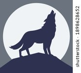 The Wolf Howling At The Moon ...