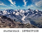 View Of The Great Morteratsch...