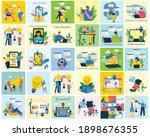 webinar online concept...   Shutterstock .eps vector #1898676355