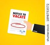 businessman is holding legal... | Shutterstock .eps vector #1898753572