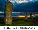 Menhirs On The Site Of Ring Of...