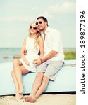 summer holidays and dating... | Shutterstock . vector #189877196