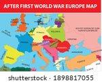 after first world war europe... | Shutterstock .eps vector #1898817055