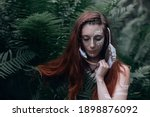 Mystical Portrait With A Trendy ...