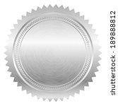 vector illustration of silver... | Shutterstock .eps vector #189888812