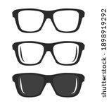 simple sun glasses icon...   Shutterstock .eps vector #1898919292