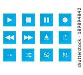 media icons | Shutterstock .eps vector #189894842