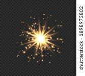 star burst with sparkles.... | Shutterstock .eps vector #1898973802