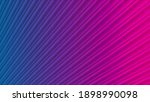 blue purple neon striped smooth ... | Shutterstock . vector #1898990098