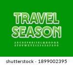 vector bright sign travel...   Shutterstock .eps vector #1899002395
