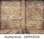 Old Room With Brick Wall ...