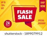 flash sale banner layout... | Shutterstock .eps vector #1899079912
